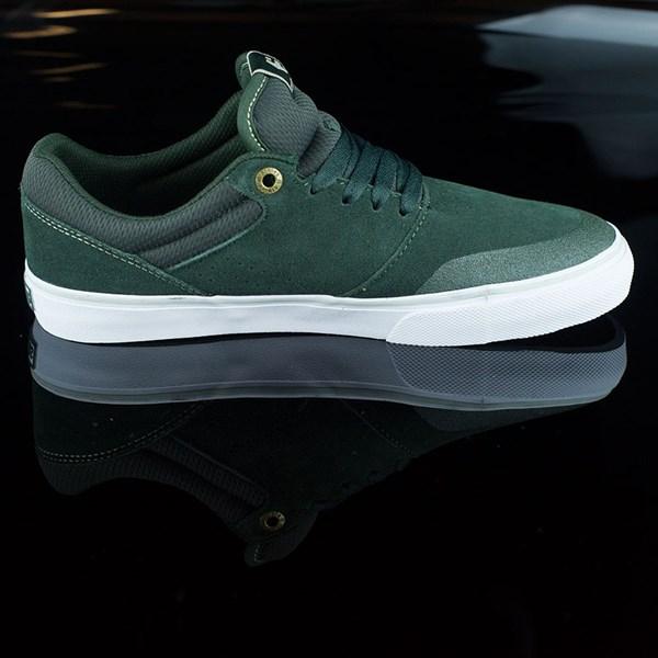 etnies Marana Vulc Shoes Dark Green Rotate 3 O'Clock