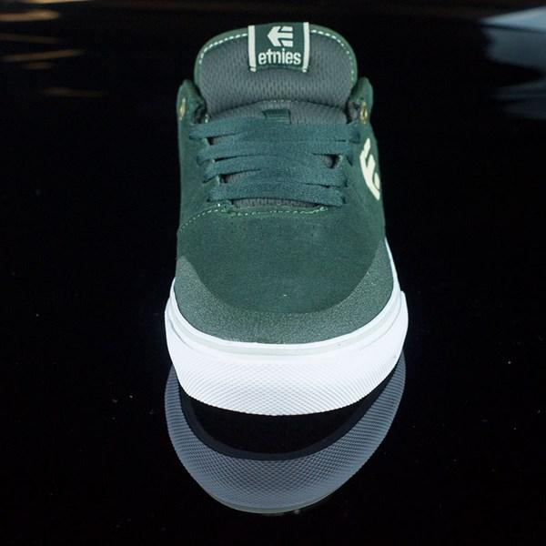 etnies Marana Vulc Shoes Dark Green Rotate 6 O'Clock
