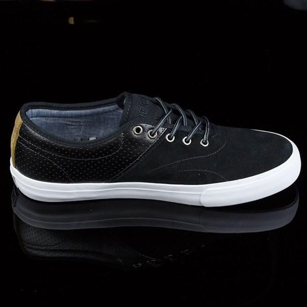 Dekline Bixby Shoes Blake, Black, White Rotate 3 O'Clock
