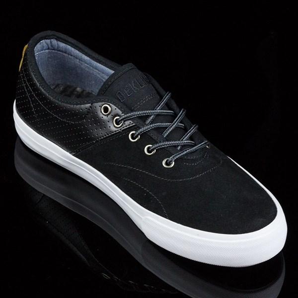 Dekline Bixby Shoes Blake, Black, White Rotate 4:30
