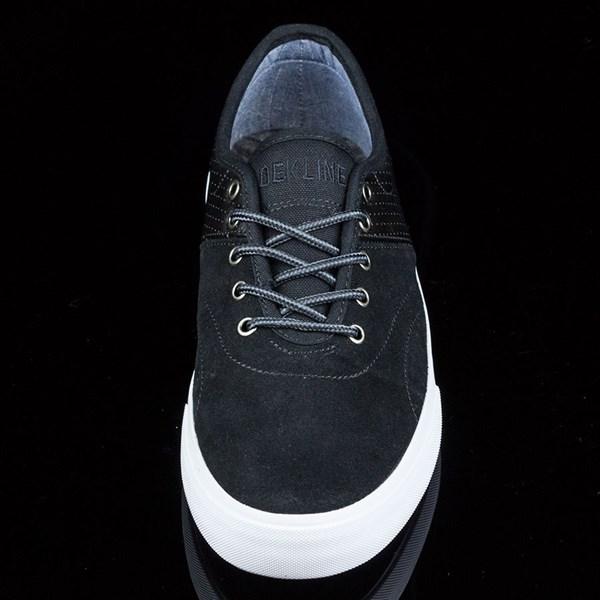 Dekline Bixby Shoes Blake, Black, White Rotate 6 O'Clock