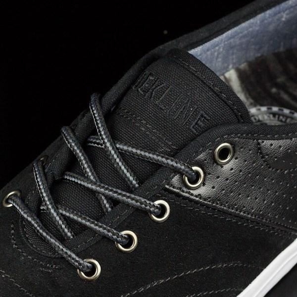 Dekline Bixby Shoes Blake, Black, White Tongue