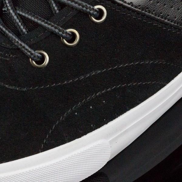 Dekline Bixby Shoes Blake, Black, White Closeup