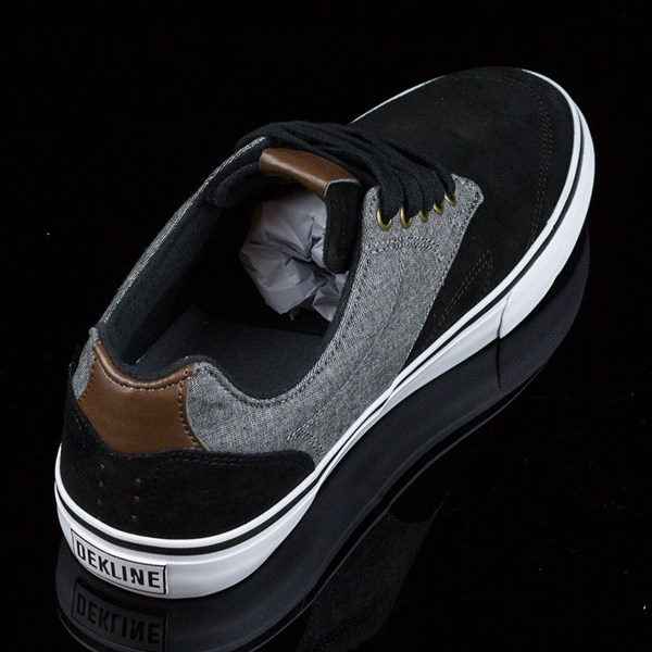 Dekline TimTim Shoes Black, Pewter Rotate 1:30