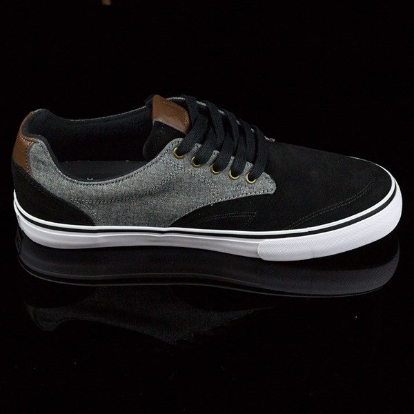 Dekline TimTim Shoes Black, Pewter Rotate 3 O'Clock