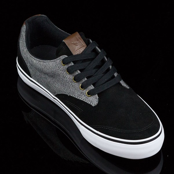 Dekline TimTim Shoes Black, Pewter Rotate 4:30