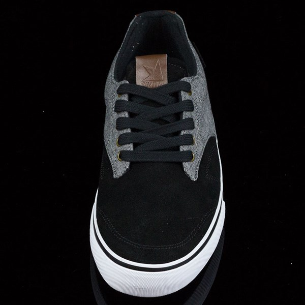 Dekline TimTim Shoes Black, Pewter Rotate 6 O'Clock