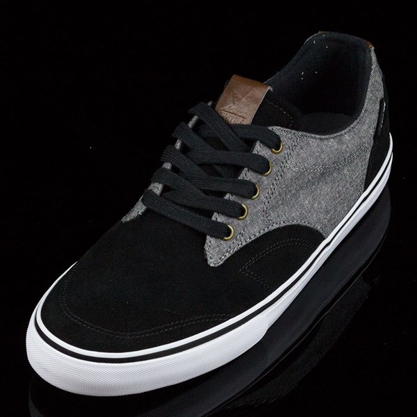 Dekline TimTim Shoes Black, Pewter Rotate 7:30