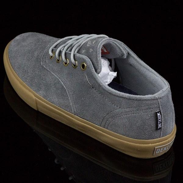 Dekline Jaws Shoes Mid Grey, Gum Rotate 7:30