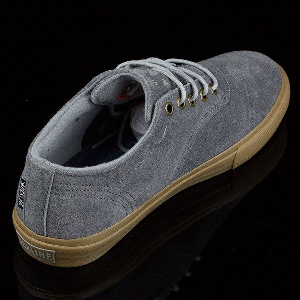 Dekline Jaws Shoes Mid Grey, Gum Rotate 1:30