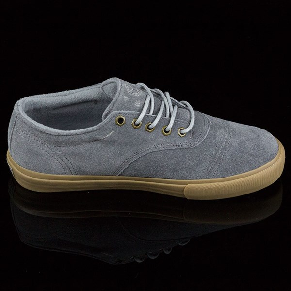 Dekline Jaws Shoes Mid Grey, Gum Rotate 3 O'Clock