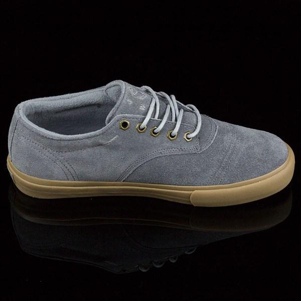 Dekline Jaws Shoes Mid Grey, Gum Rotate 3 O'Clock