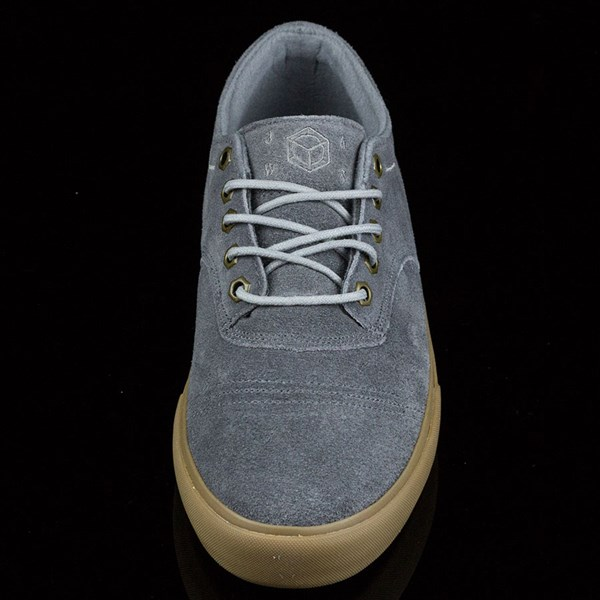Dekline Jaws Shoes Mid Grey, Gum Rotate 6 O'Clock