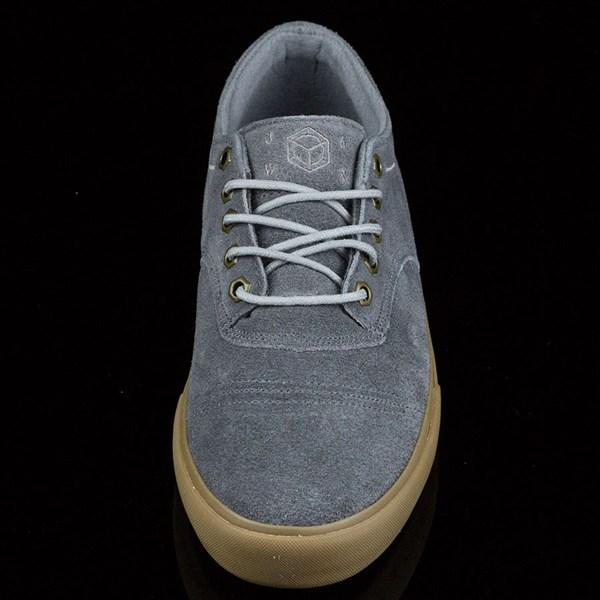 Dekline Jaws Shoes Mid Grey, Gum Rotate 6 O'Clock