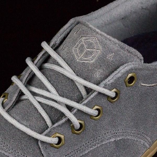 Dekline Jaws Shoes Mid Grey, Gum Tongue