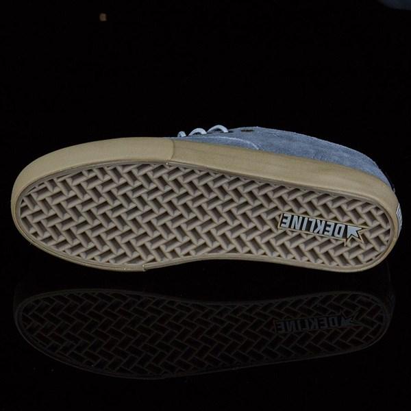 Dekline Jaws Shoes Mid Grey, Gum Sole