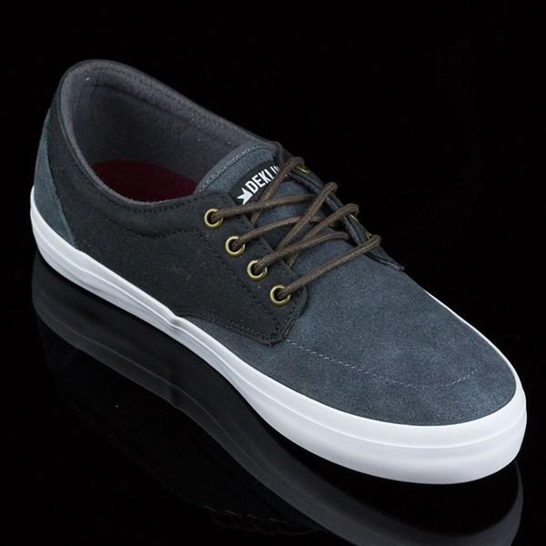 Dekline Mason Shoes Smoke, Pewter Rotate 4:30