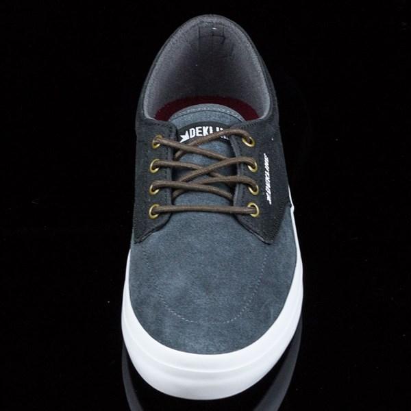 Dekline Mason Shoes Smoke, Pewter Rotate 6 O'Clock