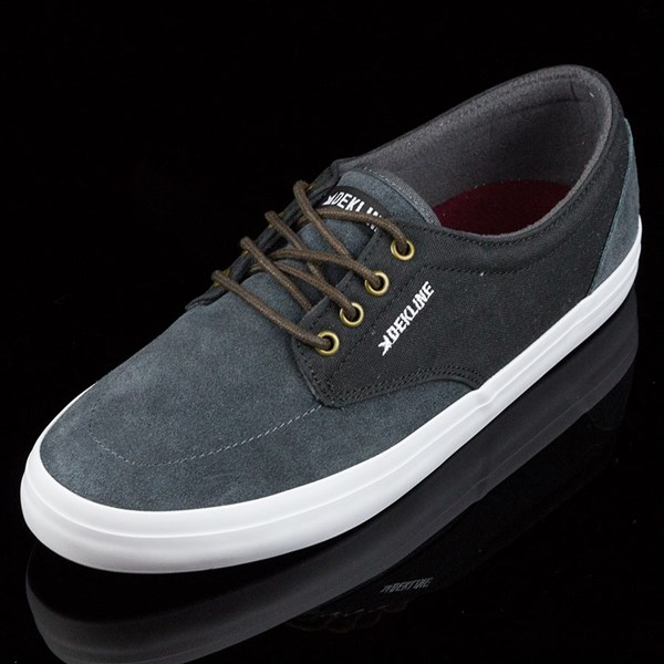 Dekline Mason Shoes Smoke, Pewter Rotate 7:30