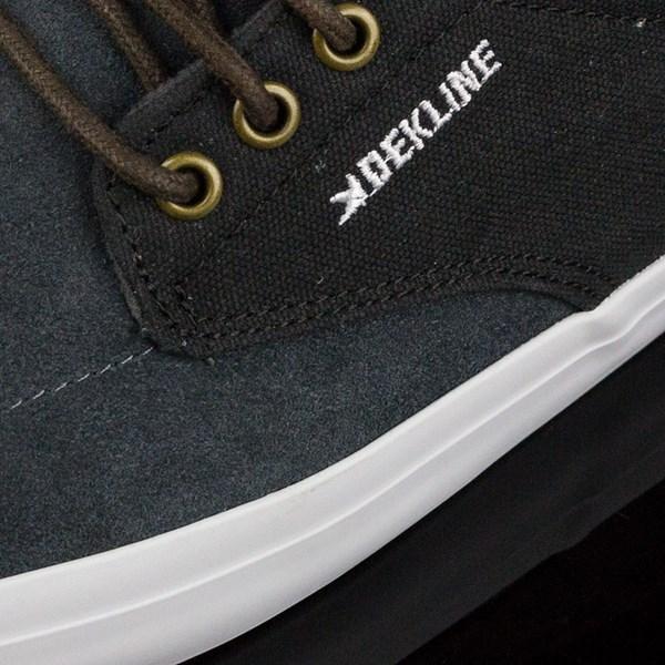 Dekline Mason Shoes Smoke, Pewter Closeup