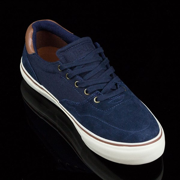 Dekline Wayland Shoes Navy, Antique Rotate 4:30