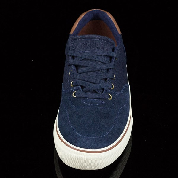 Dekline Wayland Shoes Navy, Antique Rotate 6 O'Clock
