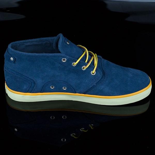 HUF Mercer Shoes Deep Navy Rotate 3 O'Clock