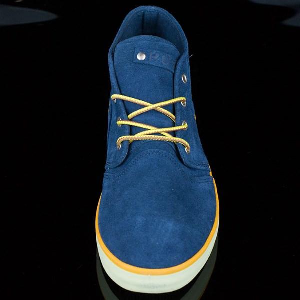 HUF Mercer Shoes Deep Navy Rotate 6 O'Clock
