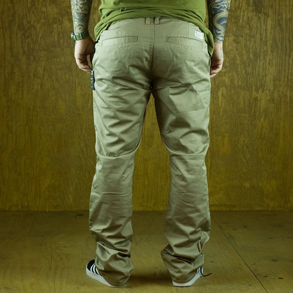 Matix Welder Classic Pants Khaki From the back.
