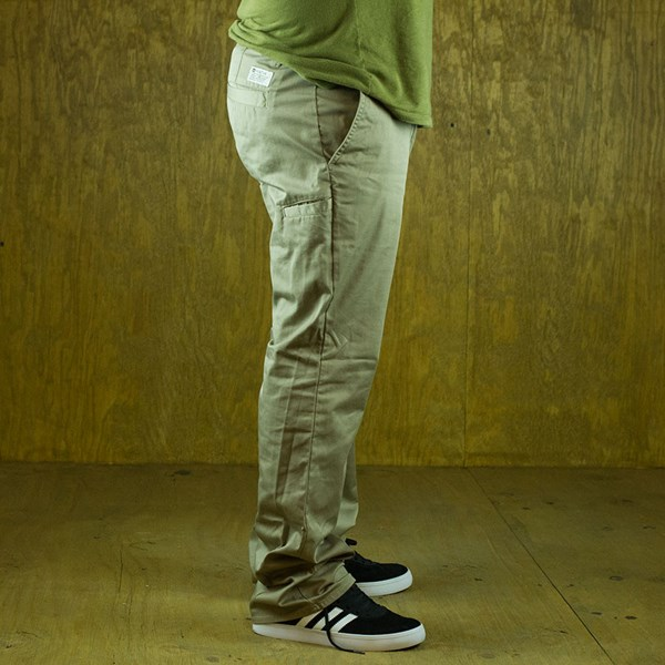Matix Welder Classic Pants Khaki From the side.