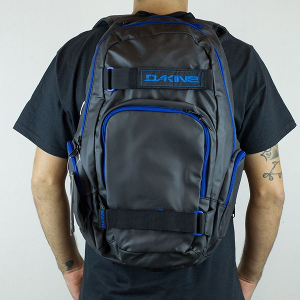Dakine Atlas Blackout Backpack Blackout From the back.