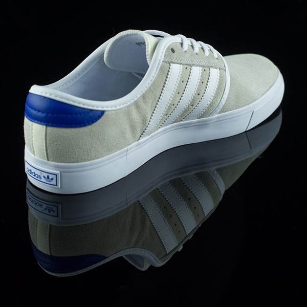 adidas Seeley Shoes White, Royal, Gum, Donnelly Rotate 1:30