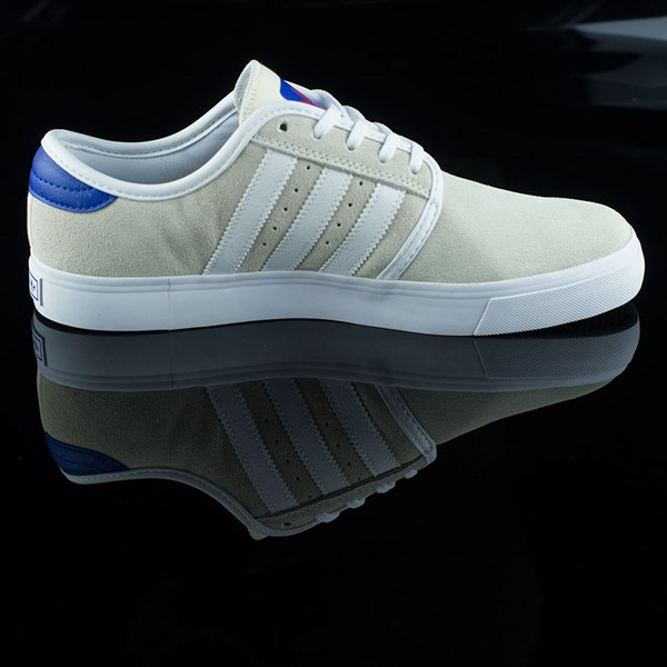 adidas Seeley Shoes White, Royal, Gum, Donnelly Rotate 3 O'Clock