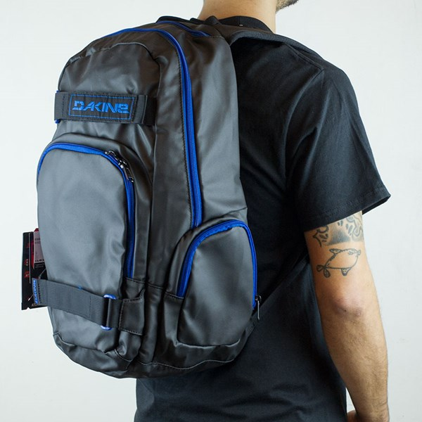 Dakine Atlas Blackout Backpack Blackout From the other side.