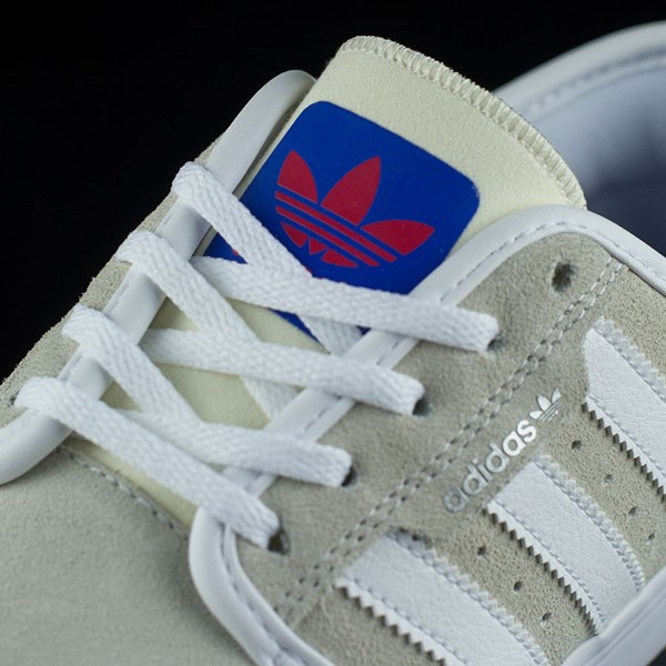 adidas Seeley Shoes White, Royal, Gum, Donnelly Tongue