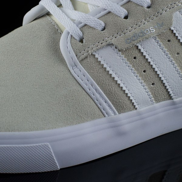 adidas Seeley Shoes White, Royal, Gum, Donnelly Closeup