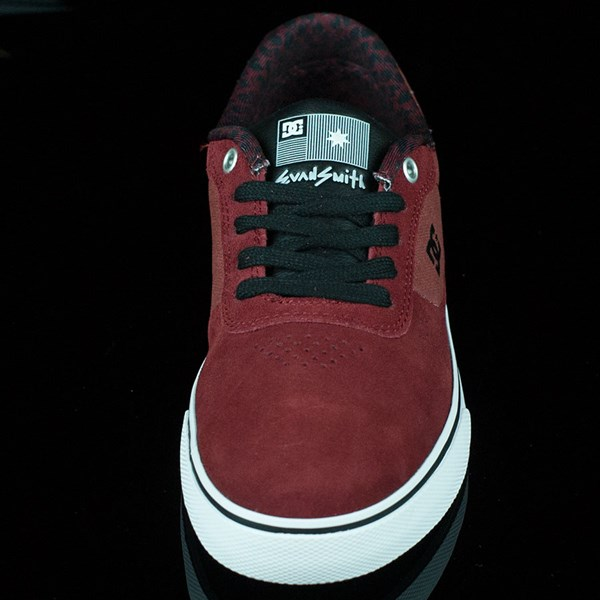DC Shoes Switch Shoes Wine, Evan Smith Rotate 6 O'Clock