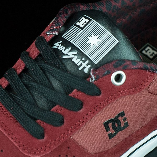 DC Shoes Switch Shoes Wine, Evan Smith Tongue