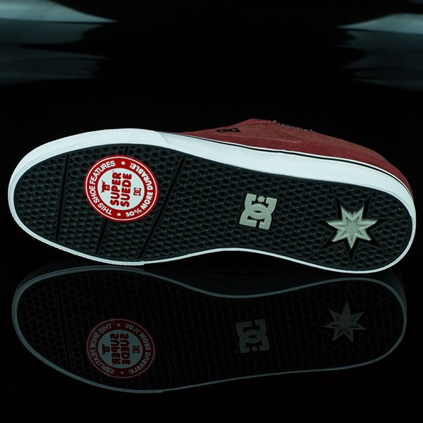 DC Shoes Switch Shoes Wine, Evan Smith Sole