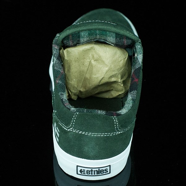 etnies Barge LS Shoes Forest Green Rotate 12 O'Clock