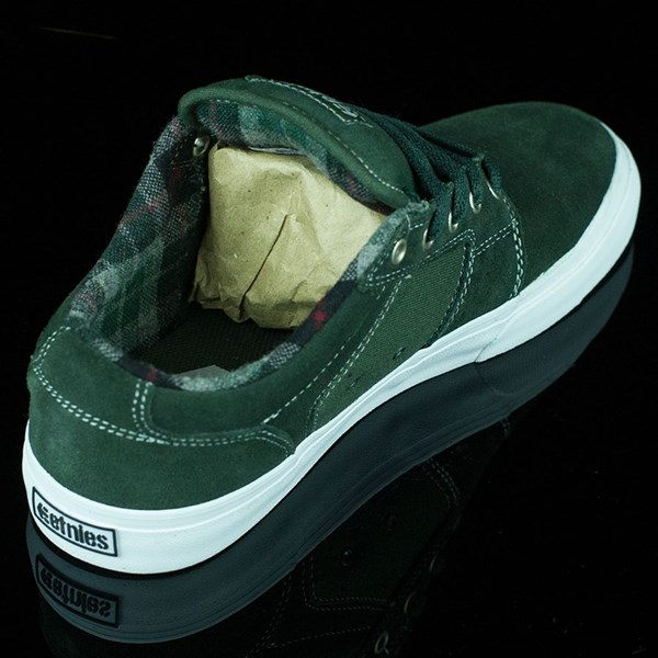 etnies Barge LS Shoes Forest Green Rotate 1:30