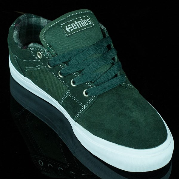 etnies Barge LS Shoes Forest Green Rotate 4:30