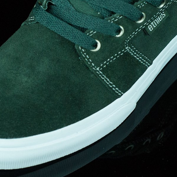 etnies Barge LS Shoes Forest Green Closeup