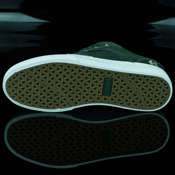 etnies Barge LS Shoes Forest Green Sole