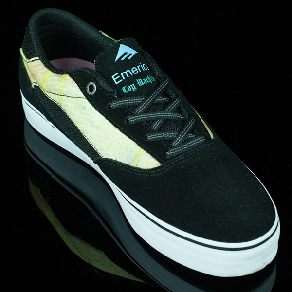 Emerica Emerica X Toy Machine Provost Shoes Black, Blue, White Rotate 4:30