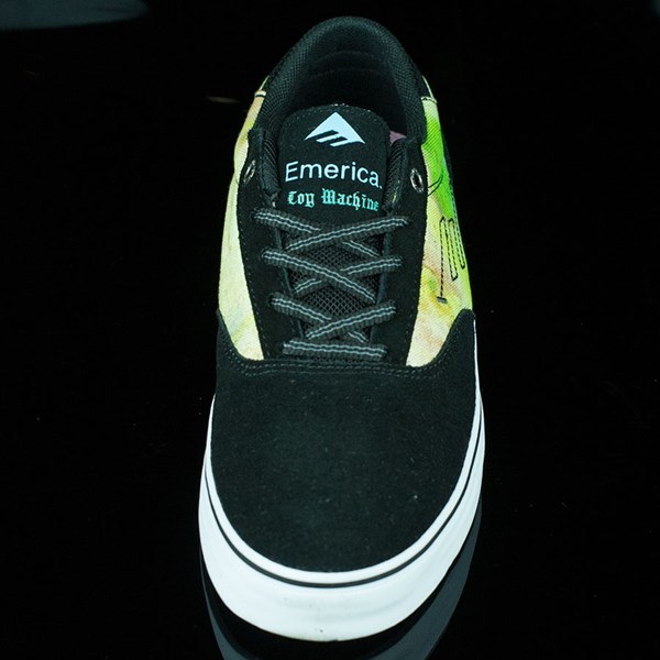 Emerica Emerica X Toy Machine Provost Shoes Black, Blue, White Rotate 6 O'Clock