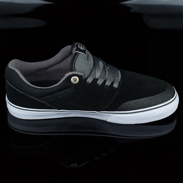 etnies Marana Vulc Shoes Black, Grey Rotate 3 O'Clock