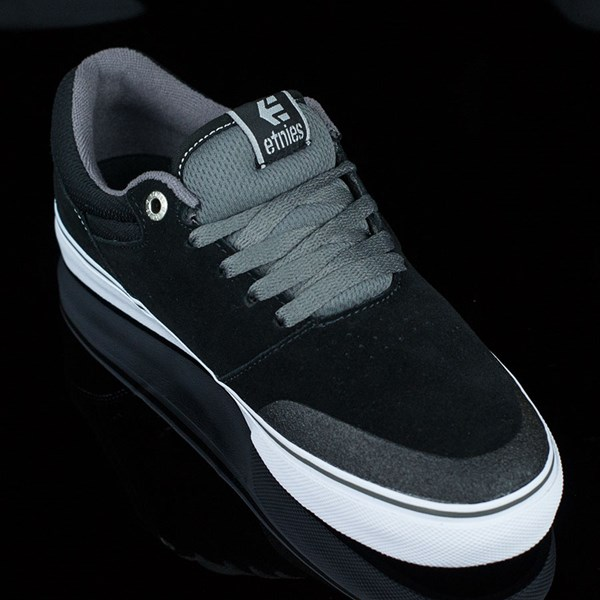 etnies Marana Vulc Shoes Black, Grey Rotate 4:30
