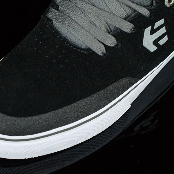 etnies Marana Vulc Shoes Black, Grey Closeup