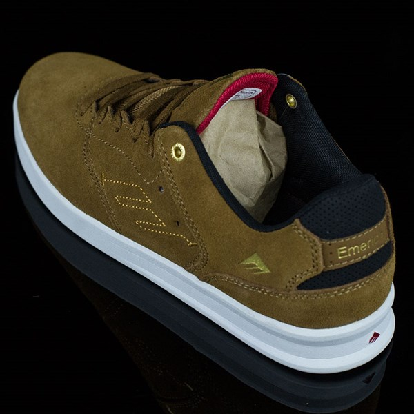 Emerica The Reynolds Low Shoes Brown, White Rotate 7:30